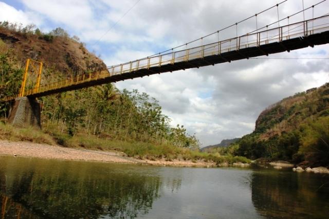 Jembatan Gantung Selopamioro 3x